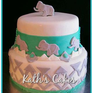 Baby Shower - Cake by Cakemummy
