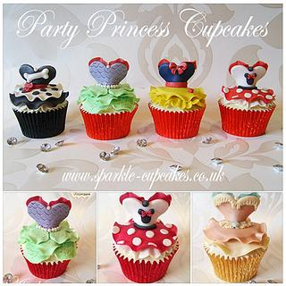 More Princess Party Dresses! - Cake by Sparkle Cupcakes