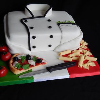 Italian Chefs jacket.