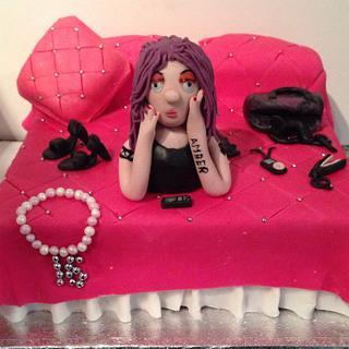 Teenage girls cake
