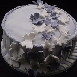 Butterfly - Cake by Tracyf1