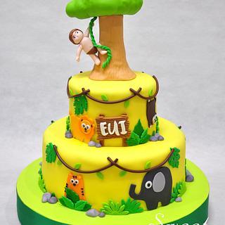 Jungle Cake - Cake by Sweet Success