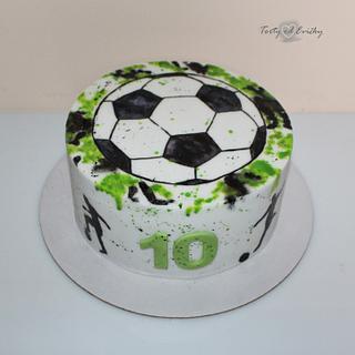 Painted football