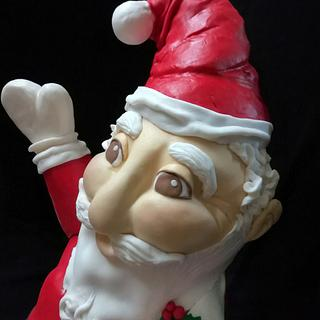 3d Santa Claus cake  - Cake by Sawsan's sweets