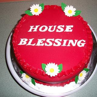 House Blessing Cake