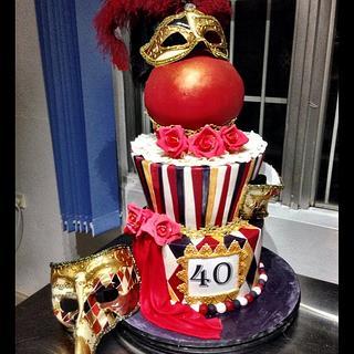 The Masquerade Cake