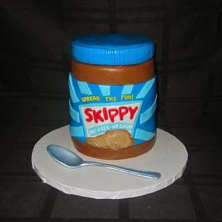 Skippy Peanut Butter Jar Cake