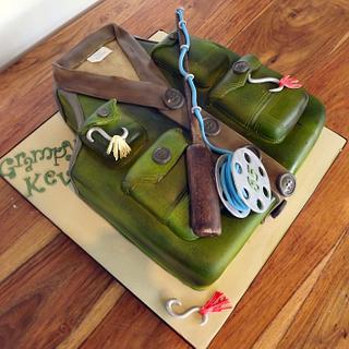 Fly Fisherman's jacket Cake :) x