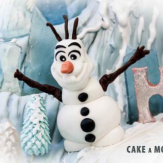Frozen Princess Cake