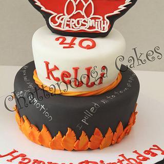 Aerosmith Cake