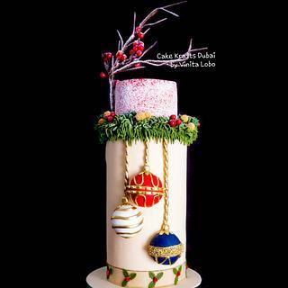 Christmas bauble  - Cake by Vinita Lobo