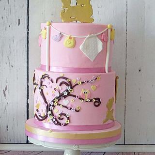 babyshower cake - Cake by Siep