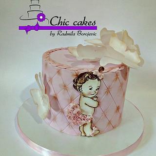 Little baby girl - Cake by Radmila