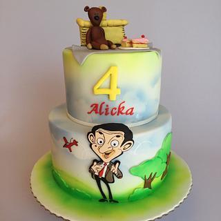 Mr.Bean birthday cake