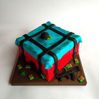 PUBG game  - Cake by Dragana