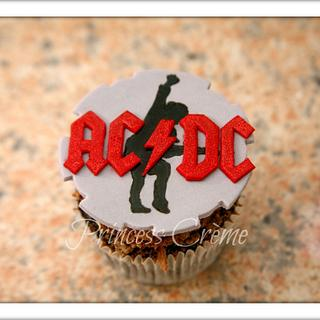 ACDC cupcakes