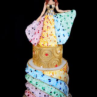 When Gaudi Meet Klimt - Sugar Art Museum Collaboration