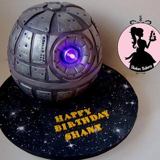 Star Wars Death Star Cake - Cake by Shantal
