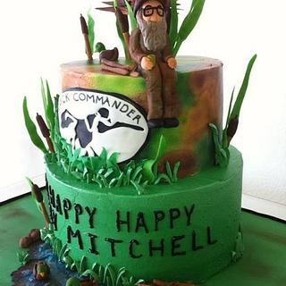 Happy happy happy duck dynasty birthday cake - Cake by Christie