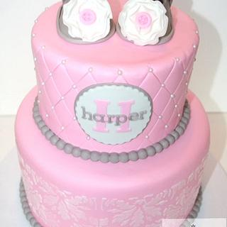 Baby shower cake - Cake by Cathy Moilan