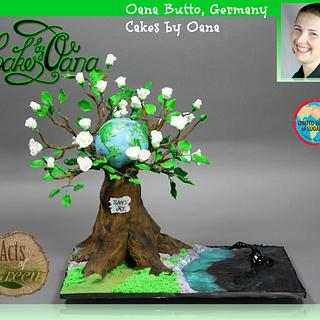 Acts of Green Collaboration - UNSA 2016 -tree of life