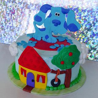 Blues clues  - Cake by Cups-N-Cakes