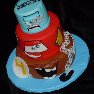 CARS 2 Cake!