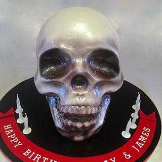 Crystal Skull Cake