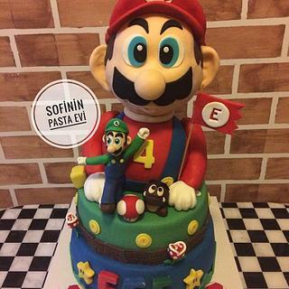 Super Mario Cake - Cake by  Sofi's Cake House
