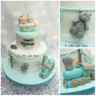 baby shower cake  - Cake by a little cake house