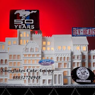 SnowFlakes Cake Artistry