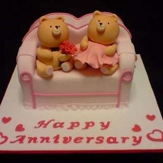 Anniversary cake...