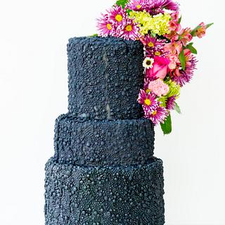Black Beauty  - Cake by SugarBritchesCakes