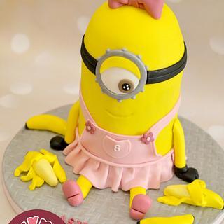 Pinkilicious Minion ;) - Cake by Nelly S.Kamal