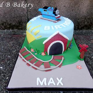 Thomas the Train Cake - Cake by CakeLuv