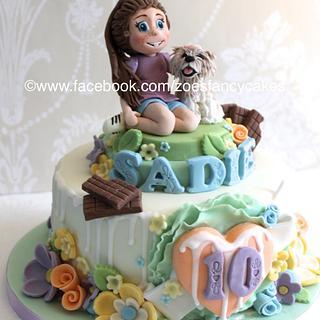 10th birthday cake - Cake by Zoe's Fancy Cakes