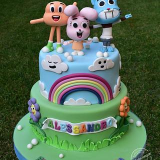 Gumball cake - Cake by Dolcidea creazioni