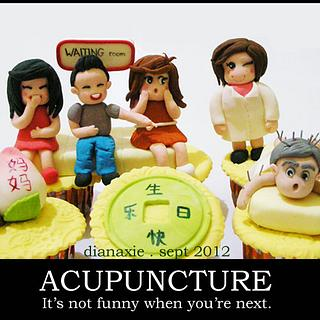 Acupuncture - Cake by Diana