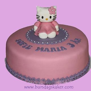 Hello Kitty cake - Cake by Janne