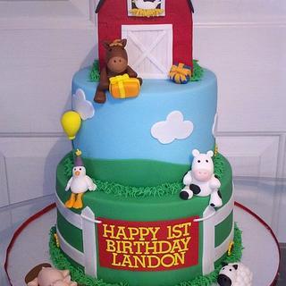 Farm 1st Birthday