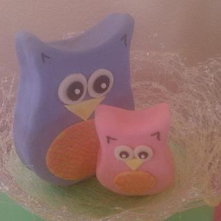 Owl Cake with sugar nest - Cake by CakeEnvy