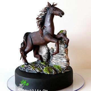 Jewel the chocolate mare