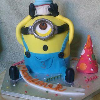 Minions - Cake by Zuzkine Dortíky