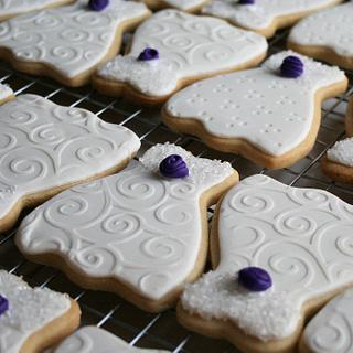 Bridal Shower butter cookies - Cake by Ansa