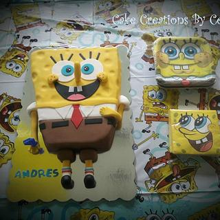 SpongeBob Cake - Cake by CakeCreationsCecilia