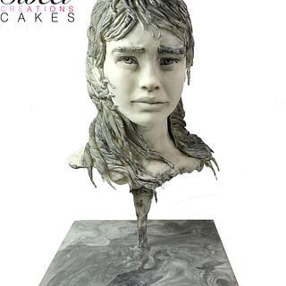 Sugar Art Museum : The Fisherman's daughter sculpture