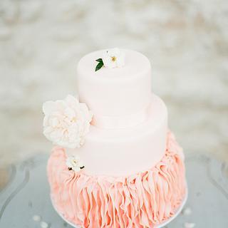 Blush WeddingCake