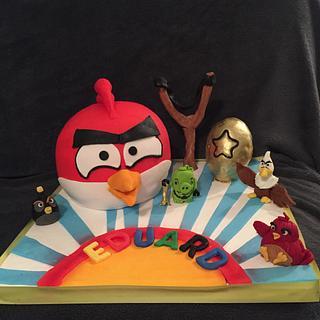 Angry bird. Cake z
