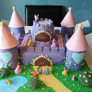 My princesses princess castle