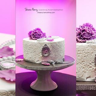 Lace Cake - Cake by Sheena Henry